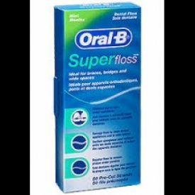 Super Floss Oral-B - 50 ks/bal